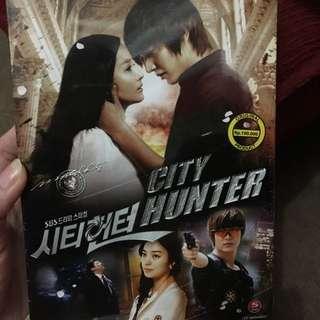 DVD serian Korea CITY HUNTER