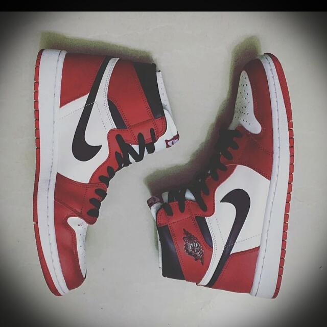 放9成新Air Jordan 1 Chicago Us10