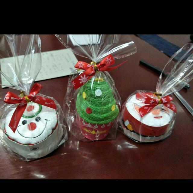 🌲聖誕交換禮物 造型小方巾