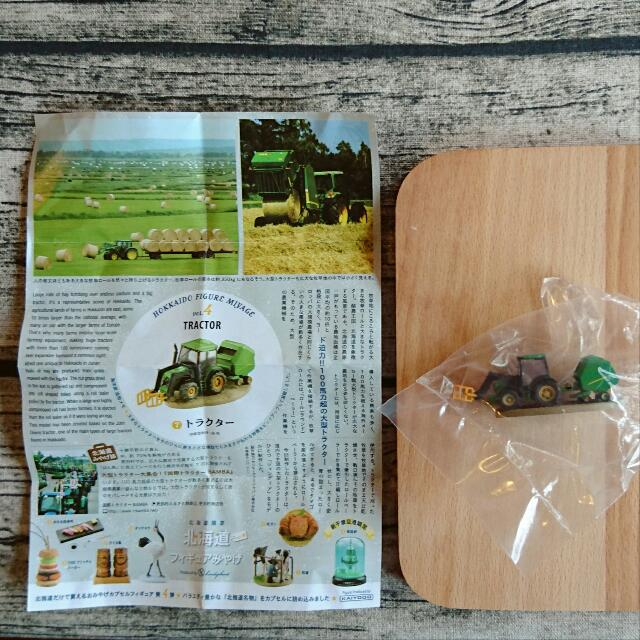 北海道限定 扭蛋 北海道 知名產物 產業 挖土機