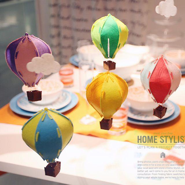 彩色立體熱氣球 掛飾 吊飾 佈置 彩旗拉花 幼兒園 手工家居 裝飾 櫥窗裝飾 生日佈置 婚禮佈置 佈置