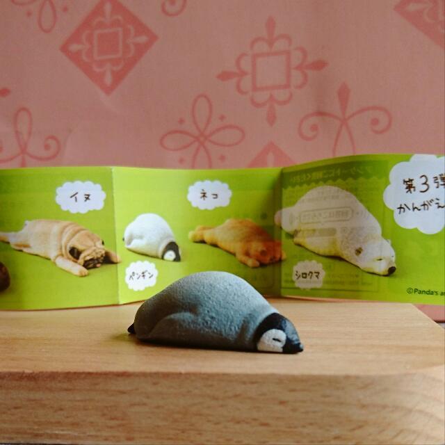 扭蛋 全新 ZOO 休眠 睡眠動物 睡眠動物園 趴睡 企鵝