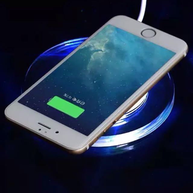 《小量可批》iPhone n Android 無線充電組 批發 量販 Wireless Charger