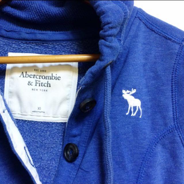 Abercrombie&fitch深藍外套xs