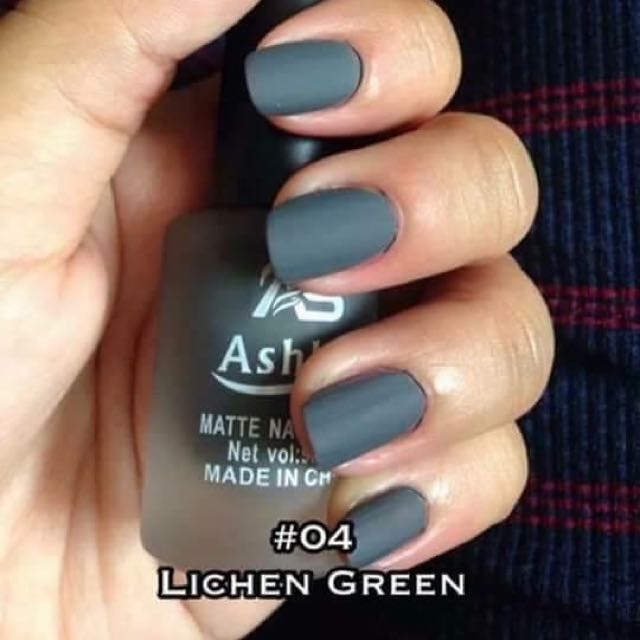 ASHLEY MATTE NAIL POLISH, Everything Else, Others on Carousell
