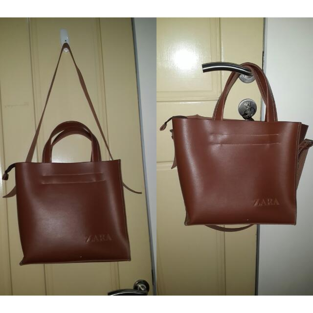 Bag ZARA KW (Multifungsi - Tali Panjang Bisa Lepas ) MASIH bagus Bgt