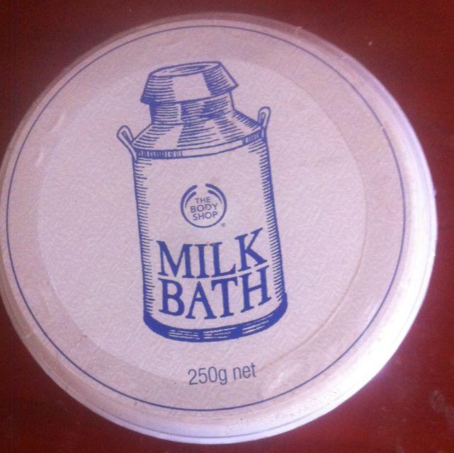 Body shop milk Bath