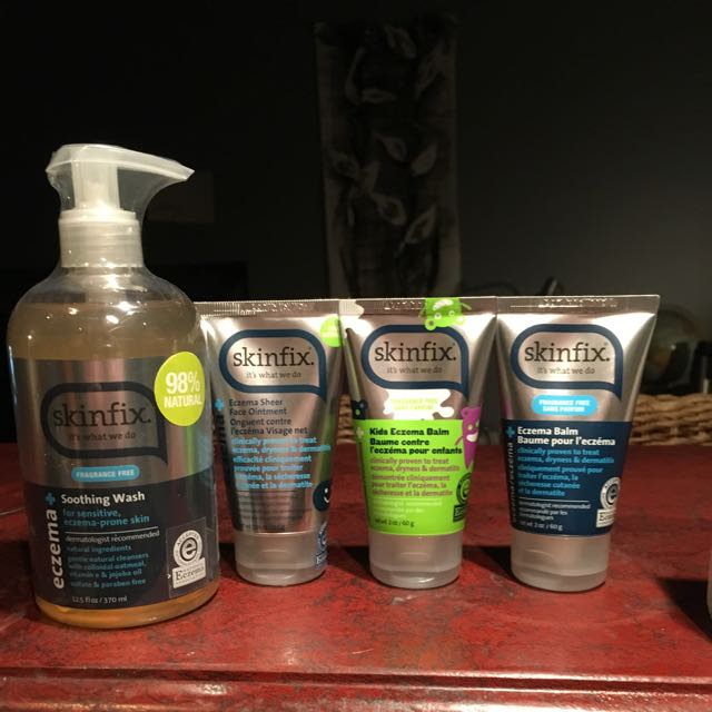 Brand New Unopened Skinfix Products