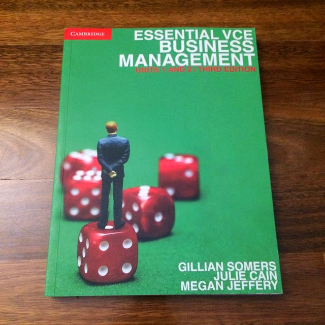 Business Management Textbook