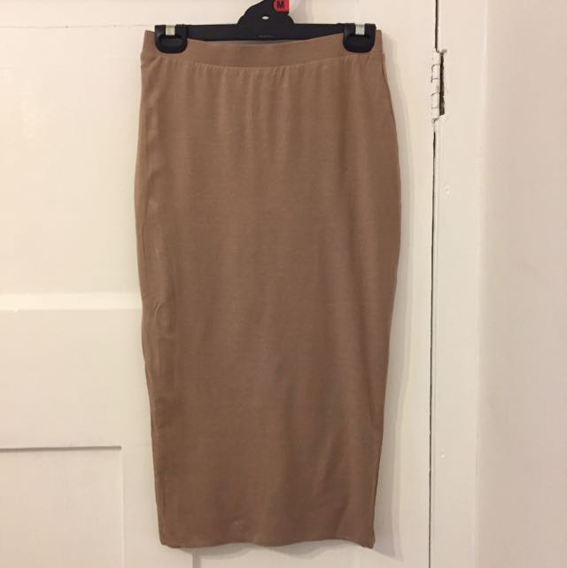 Camel Tube Skirt