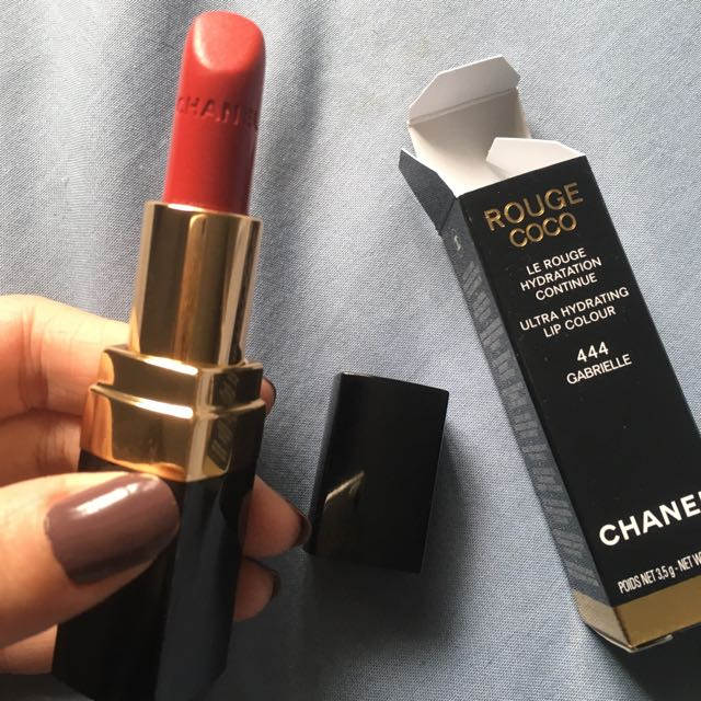 Chanel Rouge Coco Lipstick - Shade 444 Gabrielle