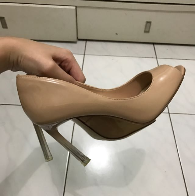 Charles And Keith Ombre Nude Heels