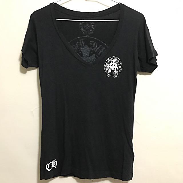 CHROME HEARTS 克羅心 經典logo T恤(正品 附購證)
