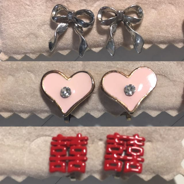 Clip On Earrings ($1/pair)