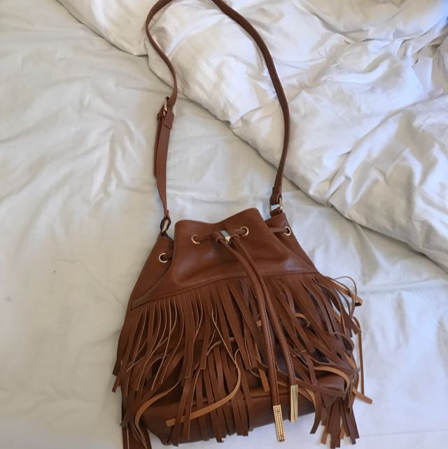 Colette Tanned Tassel Bag