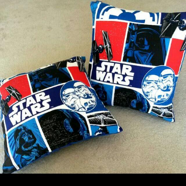 Custom made STAR WARS Cushion Set