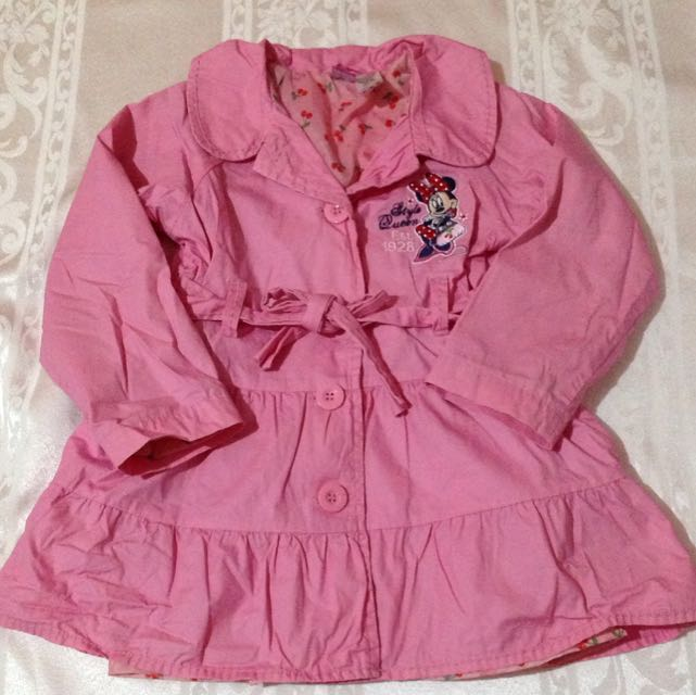 Disney Minnie mouse Trench Coat