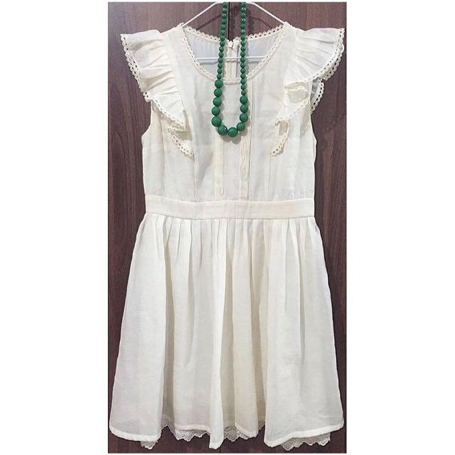 DRESS (off white)