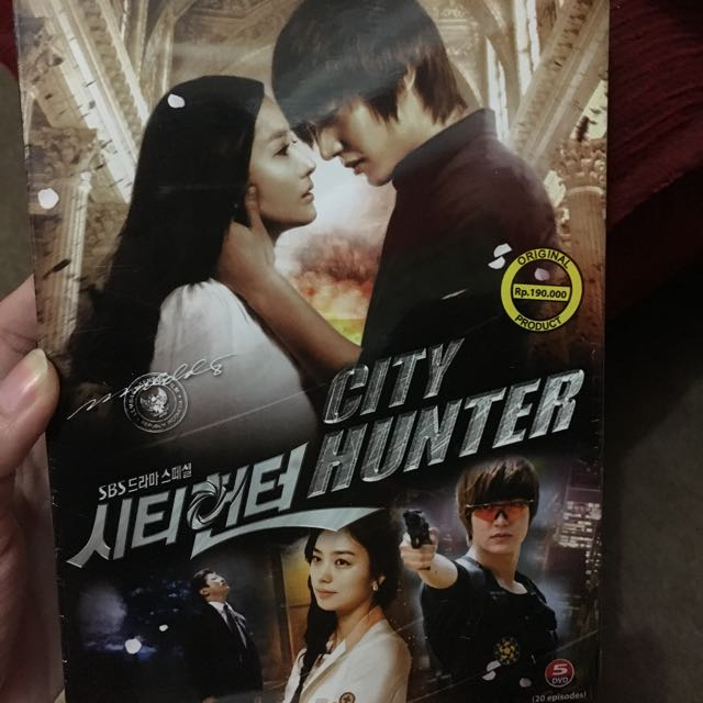 DVD serian Korea CITY HUNTER