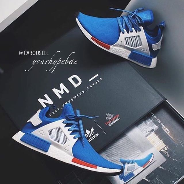 453e31a97513e EXCLUSIVE  Adidas NMD XR1 Blue Bird