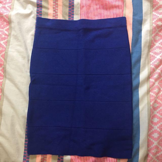 FATE Dark Blue Skirt