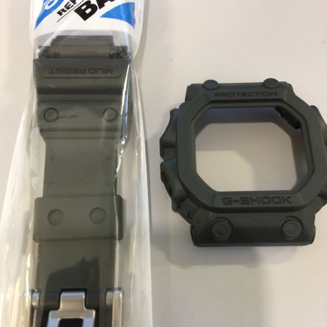 G Shock Olive King Band And Bezel