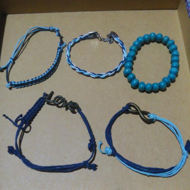 Gelang Infinity Love Biru 1 Set