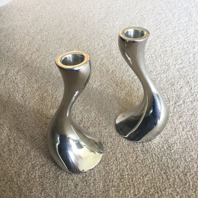 Georg Jensen Candle Holders