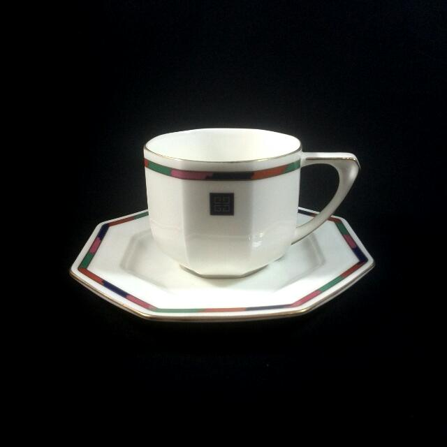 GIVENCHY CUP AND SAUCER