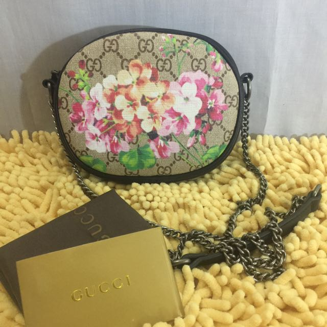Gucci Floral Painted Bag