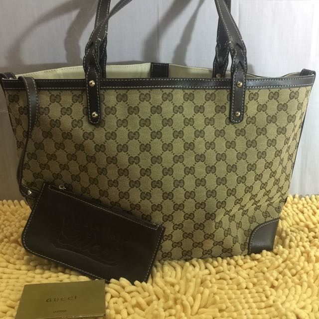Gucci Shoppers Tote Bag