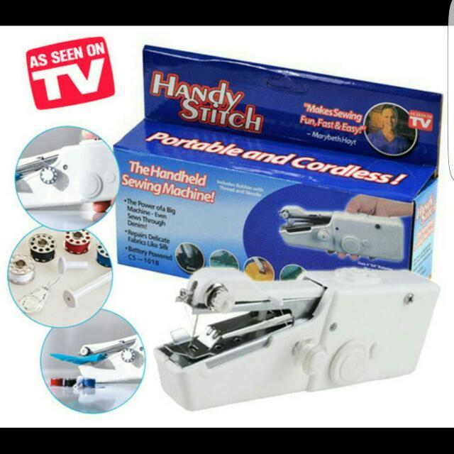 HANDY STITCH / MESIN JAHIT MINI, Design & Craft, Craft Supplies & Tools on Carousell