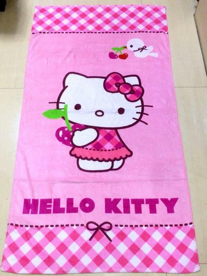 80c08732f Hello kitty bath towels on Carousell