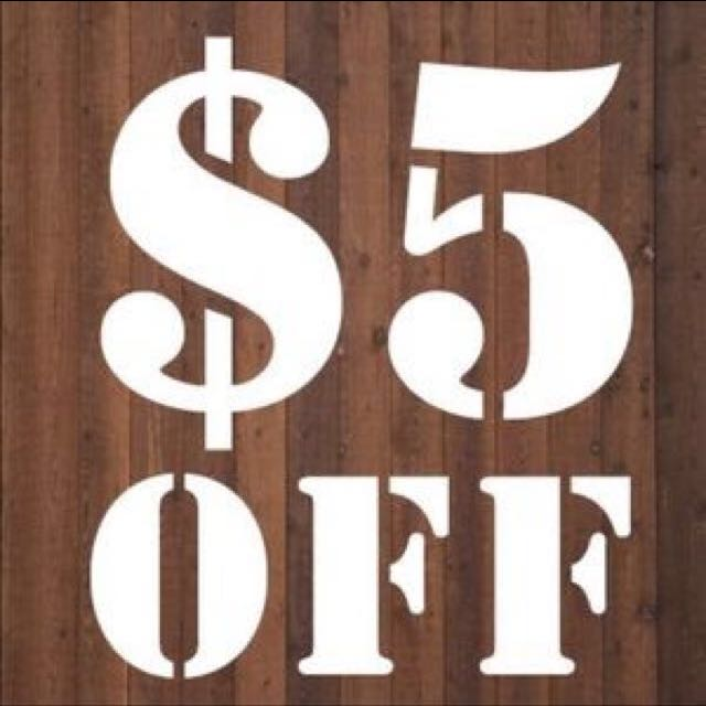 I Have Taken Another $5 Off Everything!!