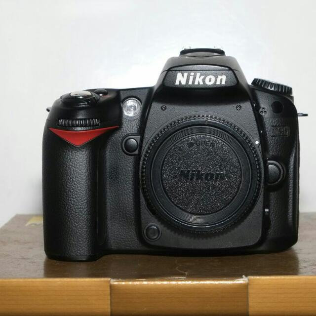 Kamera DSLR Nikon D90 Body Only (Ex Alta)