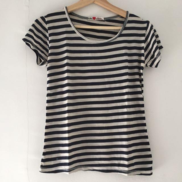 Kaos Belang-Belang Stripes