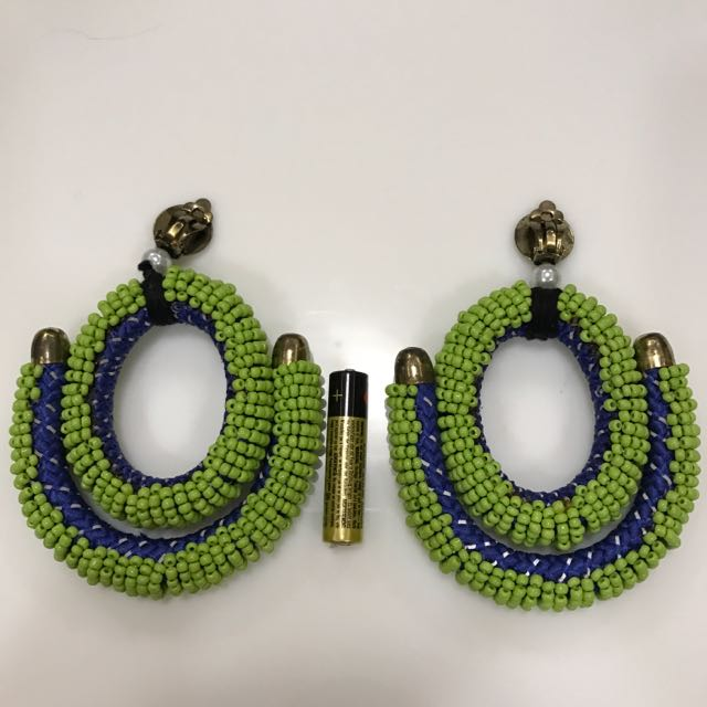 Ken Samudio dangling Earrings