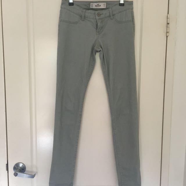 Khaki Hollister Jeans