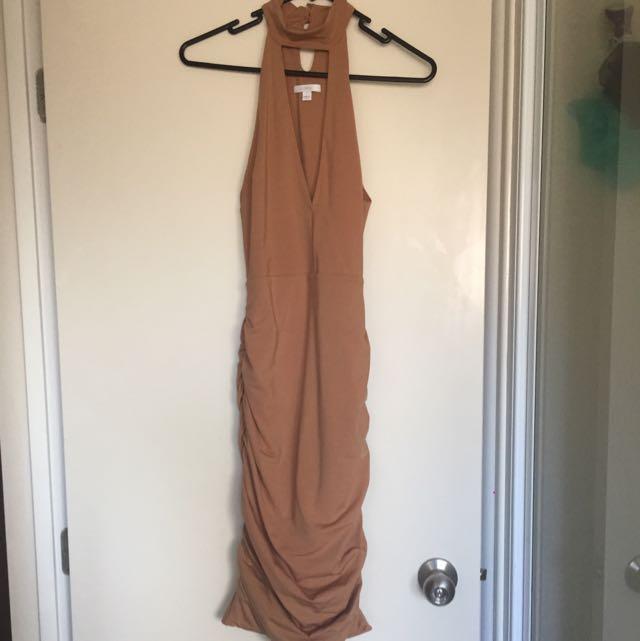 Kookai Dress Nude