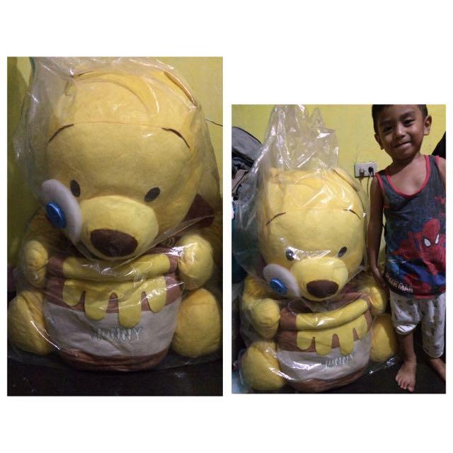 Large Pooh Bear Stuffed Toy