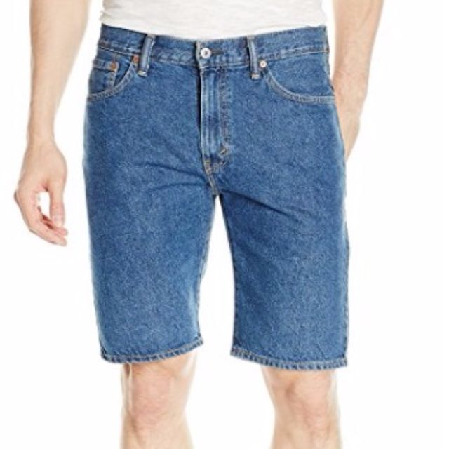 af6f7f7de4 Levi's Men's 505 Regular-Fit Short Medium Stonewash, Men's Fashion, Clothes  on Carousell
