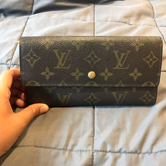 Louis Vuitton Monogram Twofold Purse