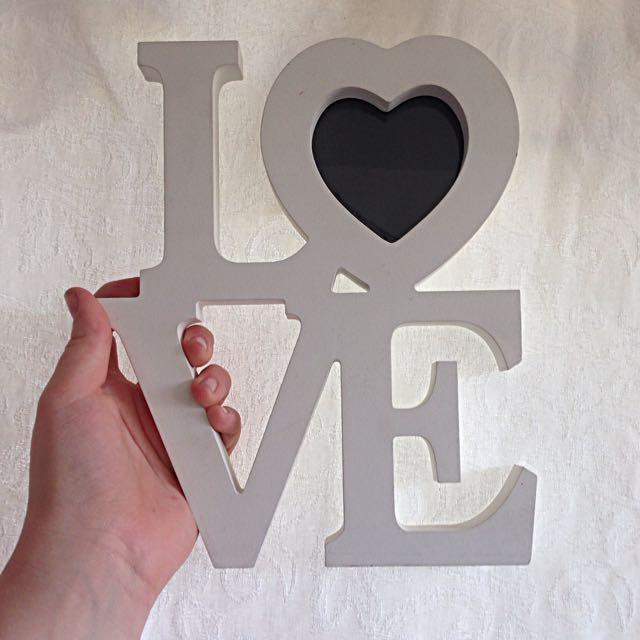 LOVE wall decor ❤️