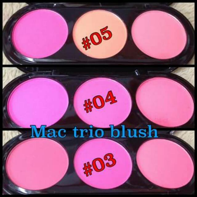 Mac Trio Blush On