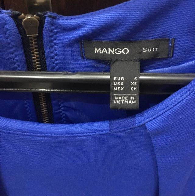 Mango Peplum Top