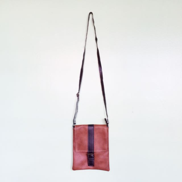 (RESERVED) Mini Leather Sling Bag