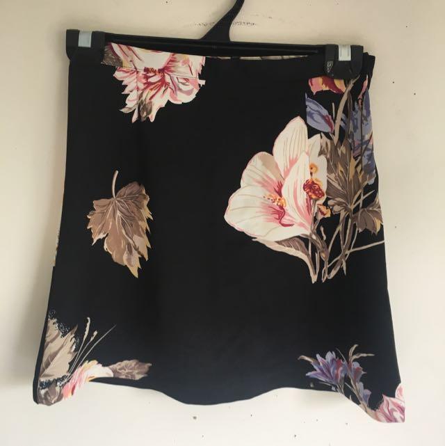 Mink Pink Floral Skirt