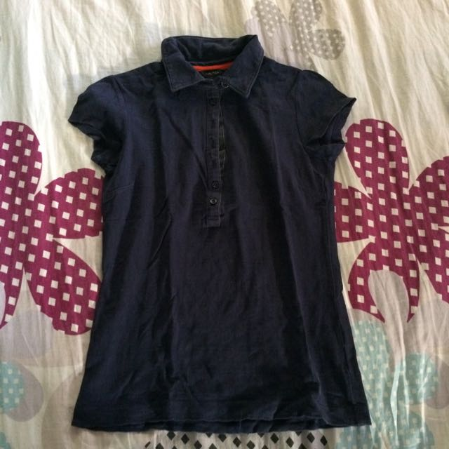 Nautica Collared Top