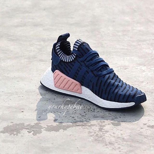 ea0c34f92130a  NEW  Adidas NMD R2 PK Black   Pink