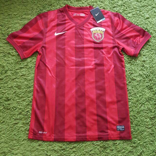 2ef7533583f NIKE CSL Shanghai SIPG Soccer Jersey